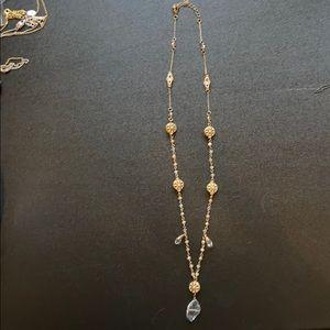 Francescas gold necklace